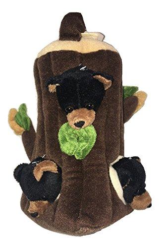 [Unipak Plush Black Bear Tree Finger Puppet] (Koala In A Tree Costume)