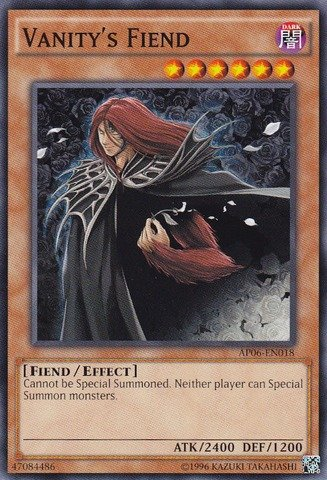 Yu-Gi-Oh! - Vanity's Fiend (AP06-EN018) - Astral Pack: Booster Six - Unlimited Edition - - S Astral