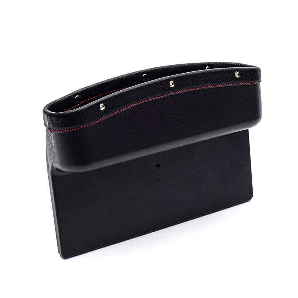 UGUAX seggiolino auto console unisci-materassi auto tasca organizer sedile laterale Catcher mini veicolo Storage box Beige