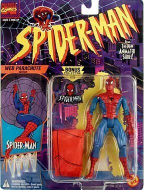 Spider-Man Parachute Animated Series Action Figure