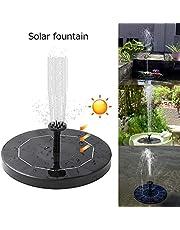 Fuentes, Fuentes solares, Bomba de Estanque Solar, característica de la Bomba Solar Fuente Flotante Estanque Fuente Solar Fuente de Agua para un Estanque de jardín o una Fuente