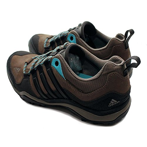 Adidas Kumacross W Outdoor Trail Schuhe grey blend-black-super cyan - 39 1/3