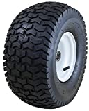 "Marathon 15x6.50-6"" Pneumatic (Air Filled) Tire on Wheel, 3"" Hub, 3/4"" Bearings"