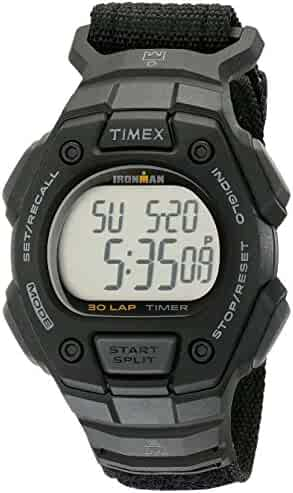 Timex Men's TW5K908009J Ironman Classic 30 Digital Watch with Black Nylon Band