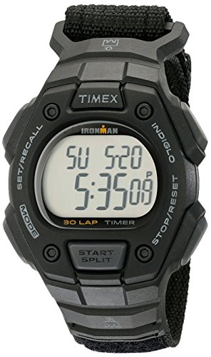 - Timex Men's TW5K908009J Ironman Classic 30 Digital Watch with Black Nylon Band