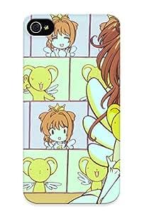 Design For Iphone 4/4s Premium Tpu Case Cover Cardcaptor Sakura Protective Case