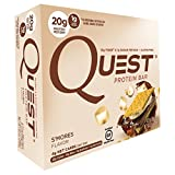 quest bars smore - Quest Nutrition Protein Bar, S'Mores, 4 Count