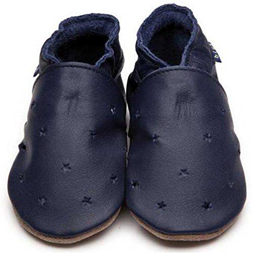 Inch Blue , Chaussures souples pour bébé (fille) Bleu Marineblau Child Extra Large