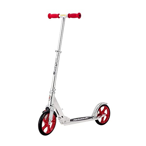 Razor Unisex Erwachsene A5 Lux Kick Scooter - Rot, Large