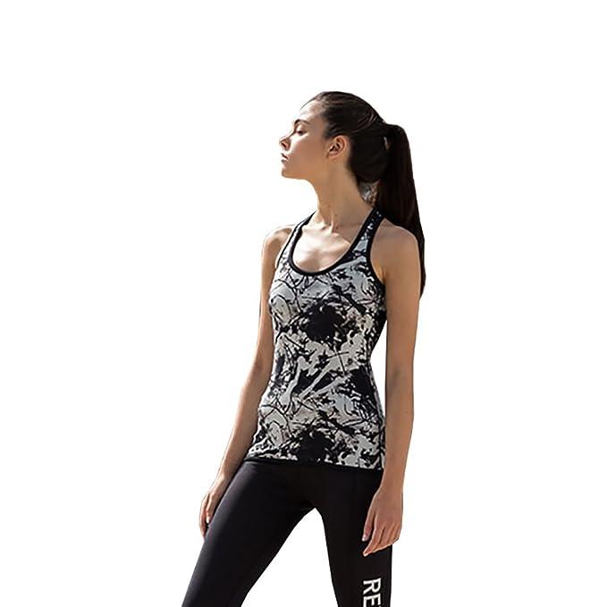53edcb8a52302 SF Womens Reversible Workout Vest: Amazon.co.uk: Clothing