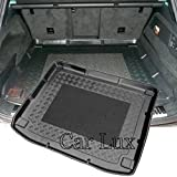Car Lux AR01109 - Alfombra Bandeja Cubeta Protector cubre maletero a medida con antideslizante
