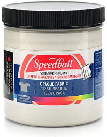 Speedball Opaque Fabric Screen Printing Inks (Pearly White) 1 pcs sku# 1842161MA