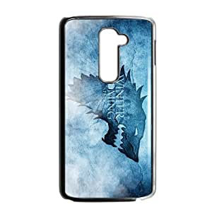 LG G2 Cell Phone Case Black Winter is coming mdyj