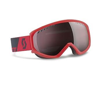 2d575b78691 Scott Faze Men's Ski Goggles, Men, Skibrille Faze, Neon Red Silver Chr
