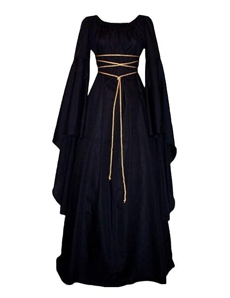 Amazon.com: Quesera - Vestido medieval para mujer, estilo ...