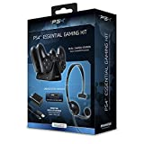 dreamGEAR-Essentials-PS4-Gaming-Kit-Headset-Charge-Cable-Charge-Dock-and-AC-charger-for-Playstation-4