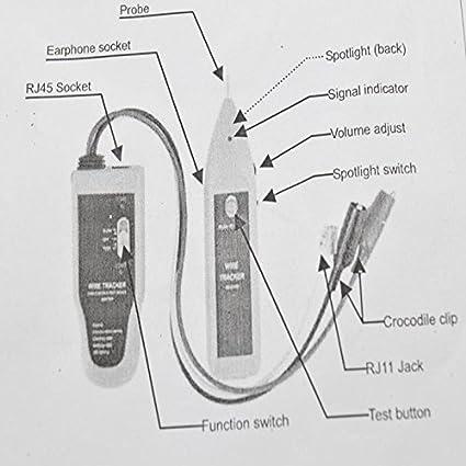 amazon com networking tool wh806c cable tester cat5 cat6 rj11 rj45 rh amazon com