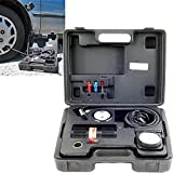 Portable Air Compressor Kit with Light - 12 Volt - 250 PSI - Great for Cars