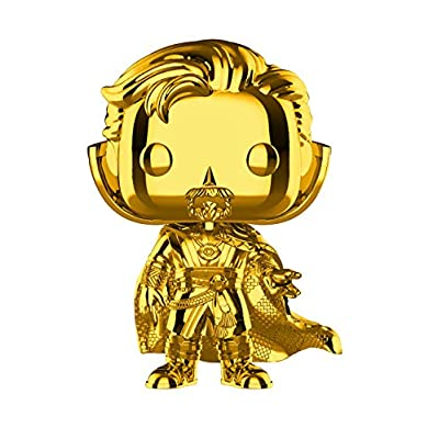 Funko Pop! Marvel: Studios 10 - Doctor Strange (Chrome) Toy, Standard, Multicolor: Toys & Games