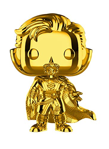 Funko Pop! Marvel: Studios 10 - Doctor Strange (Chrome) Toy, Standard, Multicolor
