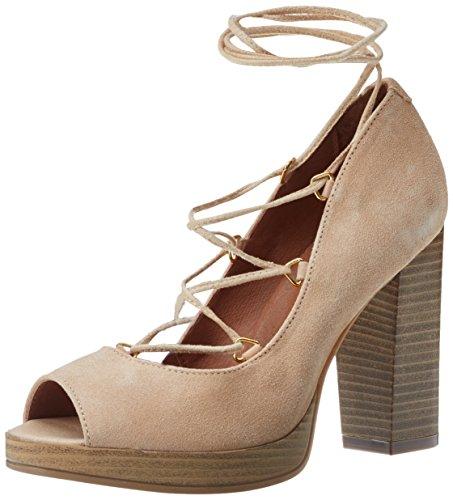 BATA 7238944, Zapatos de Tacón para Mujer Beige (Beige)