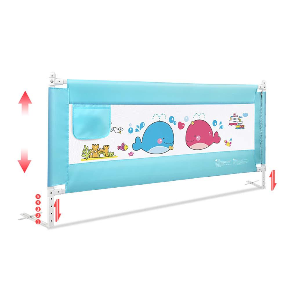 YNN 子供の垂直ベッドの手すりの大きなベッドユニバーサル赤ちゃんドロップ抵抗150cm 180cm 200cm (サイズ さいず : 200cm) 200cm  B07H84TQDT