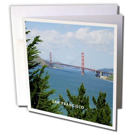 3d Rose 3dRose Golden Gate Bridge In San Francisco Califo...