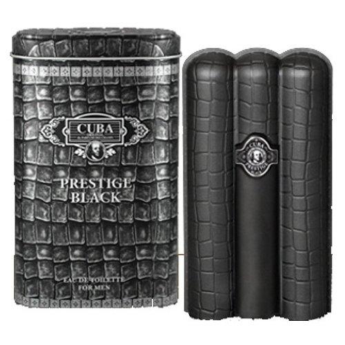 Cuba Prestige Black by Cuba, 3 oz Eau De Toilette Spray for -