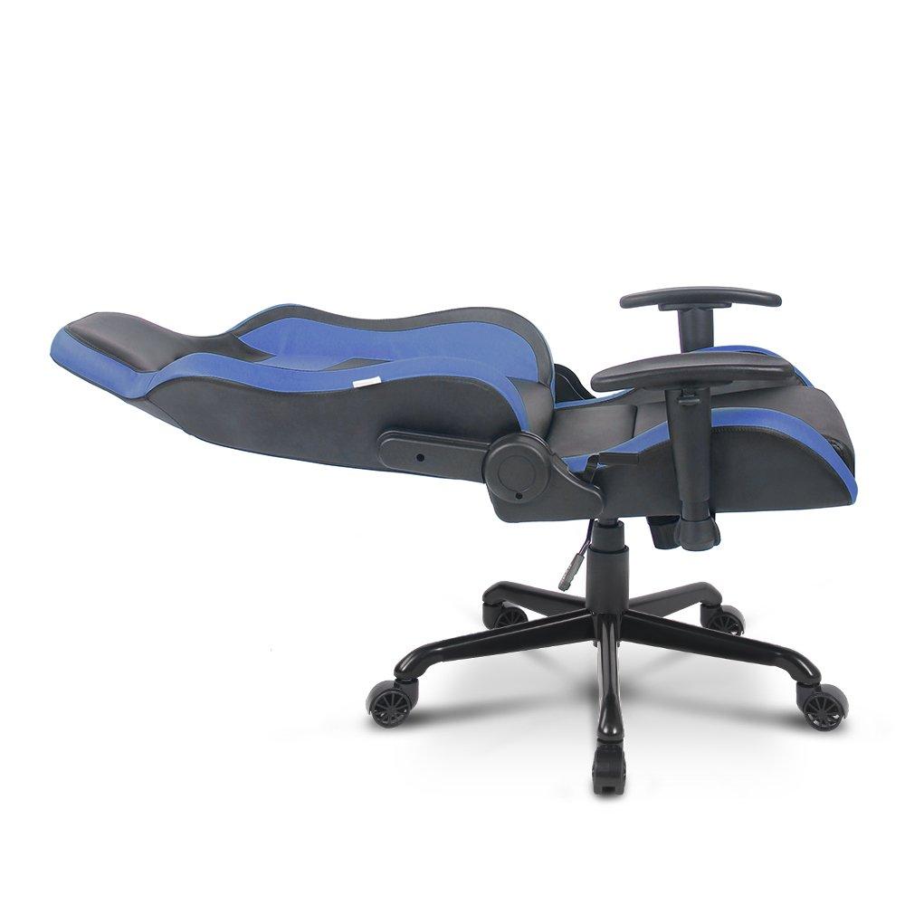 IKAYAA D-9273 - Silla de Oficina,Racing,Gaming (Ergonómico,Reclinable,Adjustable de Manija de Altura,MAX.260Kg): Amazon.es: Hogar
