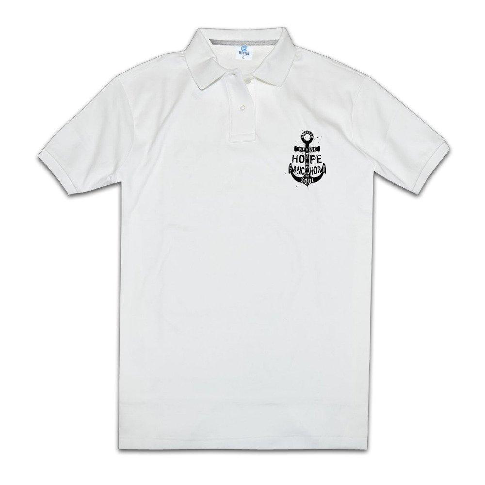 Tenemos esperanza ancla moda Polo camiseta de manga corta para ...