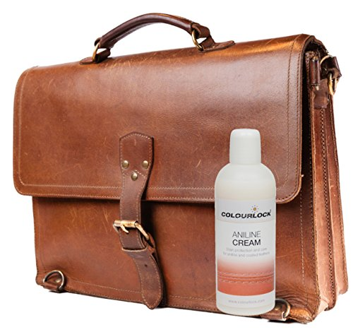 COLOURLOCK Aniline Leather Cleaning and Care Kit to protect and waterproof aniline, waxed, oily or pull up leathers on furniture suite, sofas, settee, shoes, jackets, bags and garments by Colourlock (Image #5)