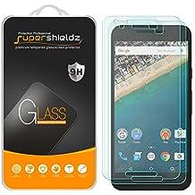 [2-Pack] Supershieldz for LG (Google) Nexus 5X Tempered Glass Screen Protector, Anti-Scratch, Anti-Fingerprint, Bubble Free, Lifetime Replacement Warranty