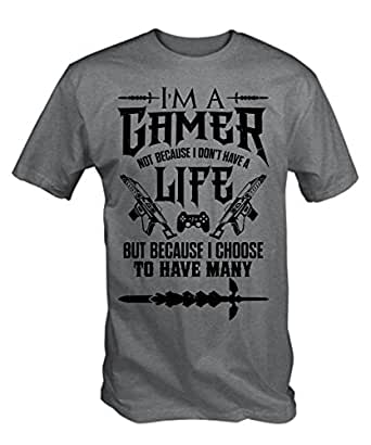 Amazon Com 6tn Mens I M A Gamer T Shirt Clothing