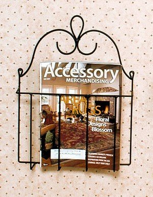 Wrought Iron Cookbook Holder (J&J Wire Victorian Mag/Cookbook Holder)