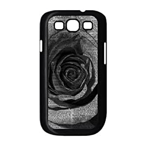 Vintage Flower Watercolor The Unique Printing Art Custom Phone Case for Samsung Galaxy S3 I9300,diy cover case ygtg586075