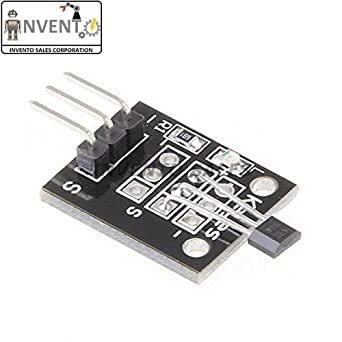Invento 1pcs KY-035 Hall Effect Magnetic Sensor Module For Arduino PIC AVR  Smart Car TW