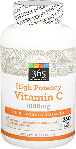 365 Everyday Value, Vitamin C 1000mg, 250 ct