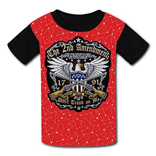 Us National Costume For Kids (Flag National Emblem US Eagle Xmas Nice Cartoon 3D Printing T-shirts for Kids Tee Shirt Tops Short Sleeve Costume)