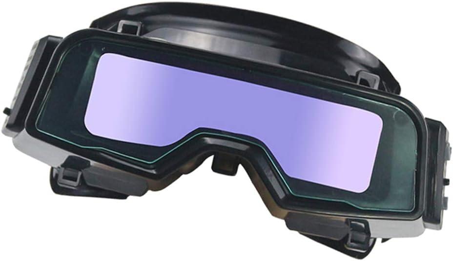 perfk Gafas de Soldar Cómodas y Cómodas para una Protección Ocular Óptima, Protegen Sus Ojos a Salvo de Amenazas Directas y Periféricas