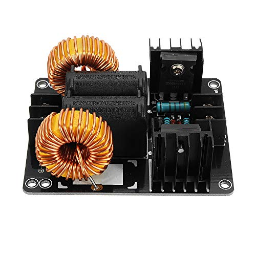 AVT 1000W 20A ZVS Low Voltage Induction Heating Coil Module Flyback Driver Heater Large Heat Sink Module Heater for Arduino -  AVT850