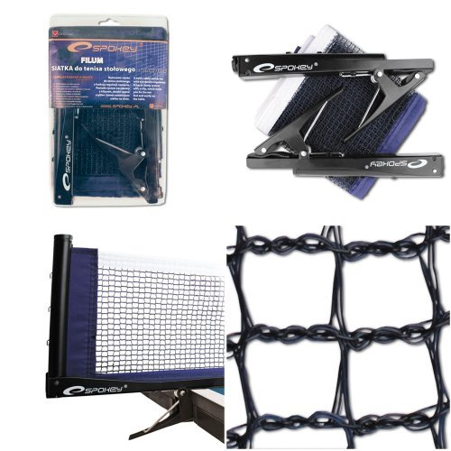 Spokey table tennis net filum outfit comes with clamp, clamping device + UP Label by Spokey by Spokey