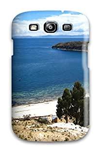 Best 1690495K95522593 Cute Appearance Cover/tpu Titicaca Lake Case For Galaxy S3