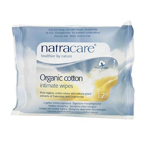 Amazon.com: Natracare Organic Cotton Intimate Wipes 12 ea: Health & Personal Care