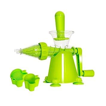 Pozodul - Exprimidor de cítricos Manual de Acero Inoxidable para limón Naranja: Amazon.es: Hogar