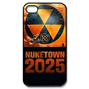 Custom Your Own Nuketown 2025 Call of Duty iPhone 4/4S Case , personalised Nuketown 2025 Call of Duty Iphone 4 Cover