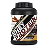 Amazing Muscle 100% Whey Protein Powder *Advanced Formula With Whey Protein Isolate as a Primary Ingredient along with Ultra Filtered Whey Protein Concentrate (Chocolate, 5 lb) For Sale