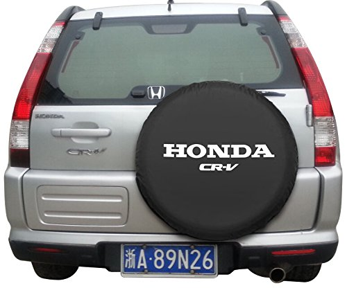 Moonet Canvas Car Spare Tire Cover Truck SUV Camper Wheel Care for Honda CRV Fits R17 (81cm / - Crv For Cover Honda Spare Tire