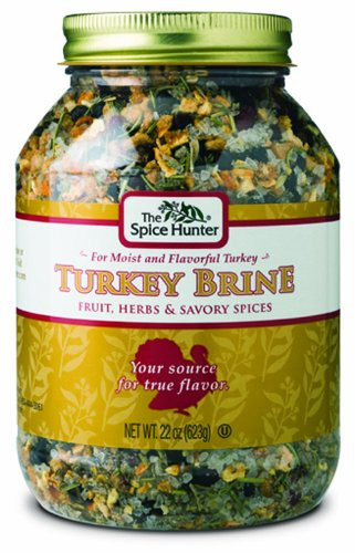 The Spice Hunter Turkey Brine, 22-Ounce Jars (Pack of 2)