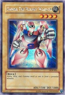 (YuGiOh GX Gamma The Magnet Warrior DOR-003 Promo Card [Toy] by)