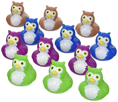 Owl Rubber Duckys - 12 pc ()